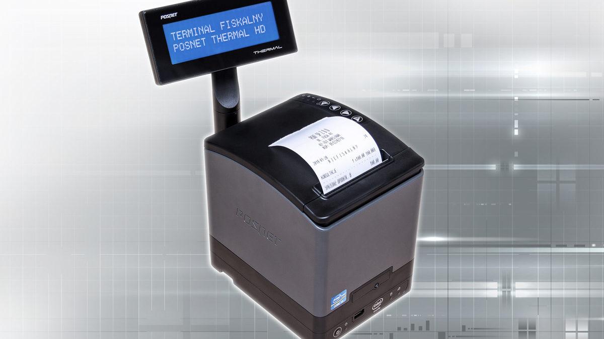 Terminal fiskalny, czyli drukarka Thermal HD zintegrowana z komputerem
