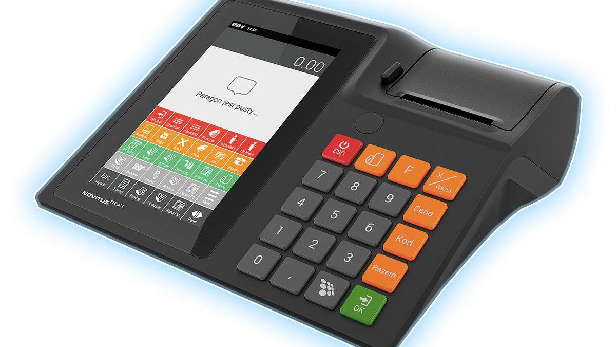 Novitus Next – kasa fiskalna z tabletem i systemem Android