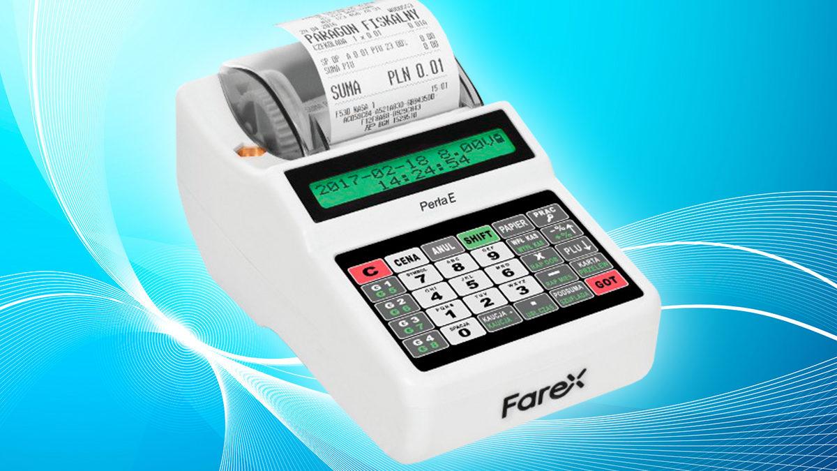Perła E w wersji Plus. Co teraz oferuje kasa fiskalna marki Farex?
