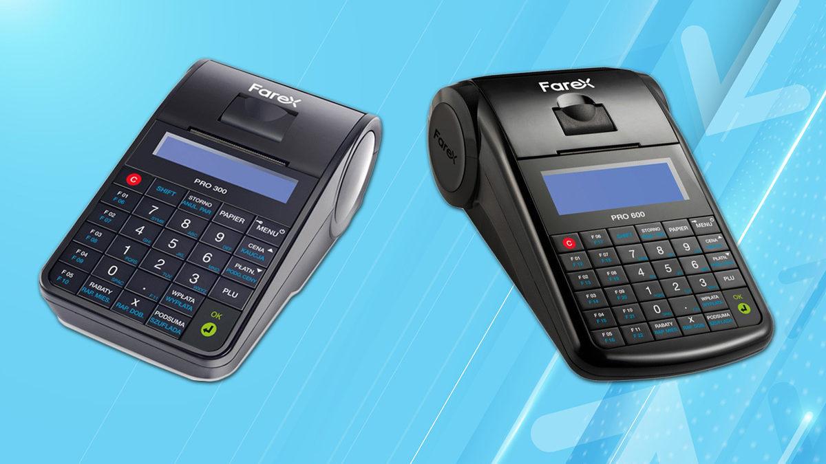 Homologacje GUM dla kas fiskalnych online marki Farex