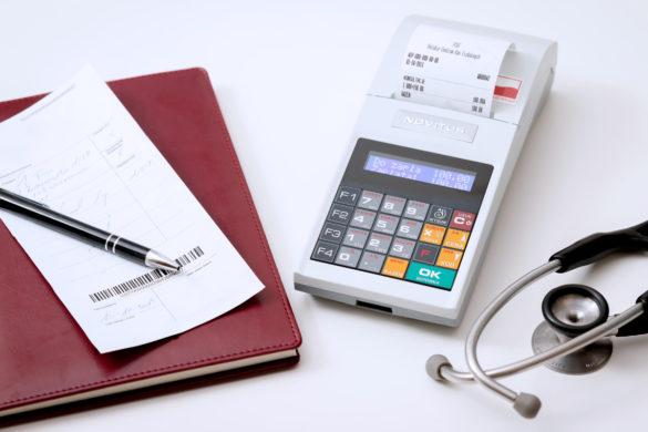 Wymiana kasy fiskalnej w gabinecie lekarskim
